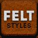 Felt Style Building Kit - GraphicRiver Item for Sale