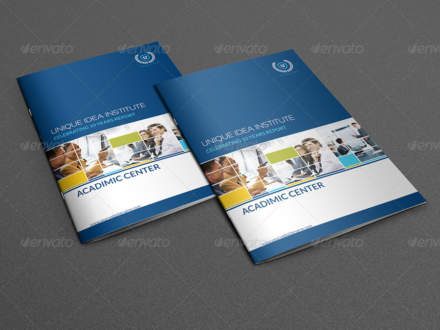Training Company Brochure Template 28 Pages By Owpictures