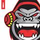Gorilla Sound Luthung Logo - GraphicRiver Item for Sale