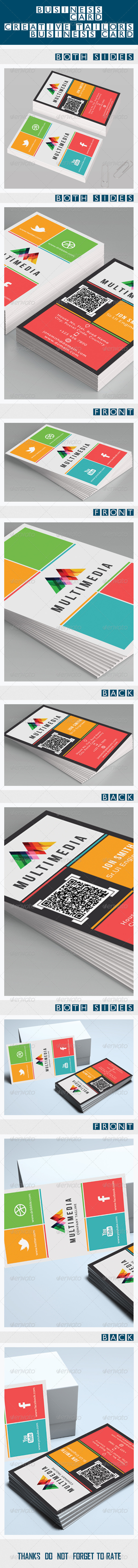 Metro Design Business Card - Creative Business Cards
