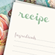 Recipe Cards - GraphicRiver Item for Sale