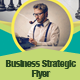 Corporate Business Strategic Flyer Template - GraphicRiver Item for Sale