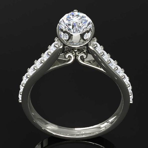 CK Diamond Ring 002 - 3DOcean Item for Sale