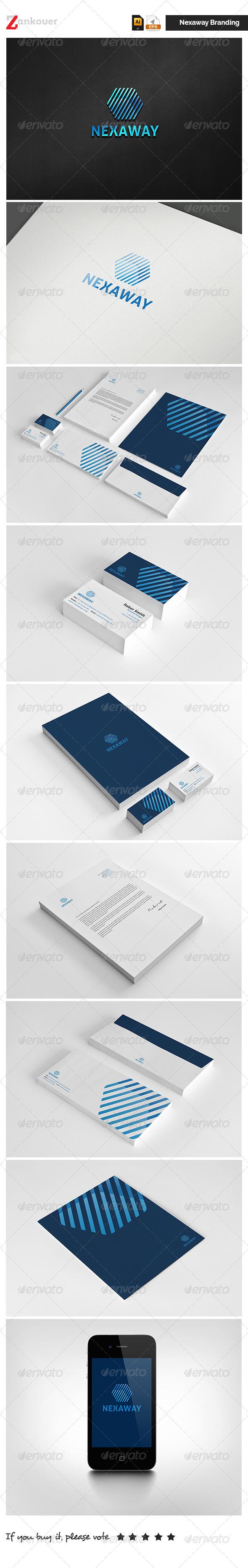 Corporate Identity - Nexaway - Stationery Print Templates
