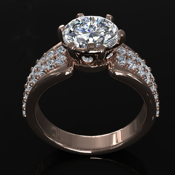 CK Diamond Ring 006 - 3DOcean Item for Sale