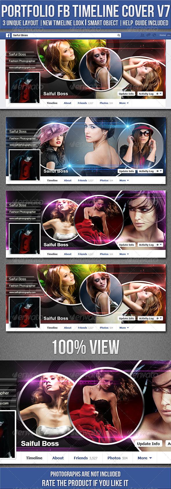 Portfolio FB Timeline Cover V7 - Facebook Timeline Covers Social Media