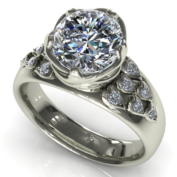 CK Diamond Ring 009 - 3DOcean Item for Sale