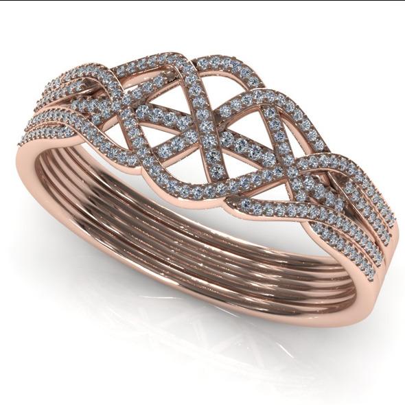 CK Diamond Ring 012 - 3DOcean Item for Sale