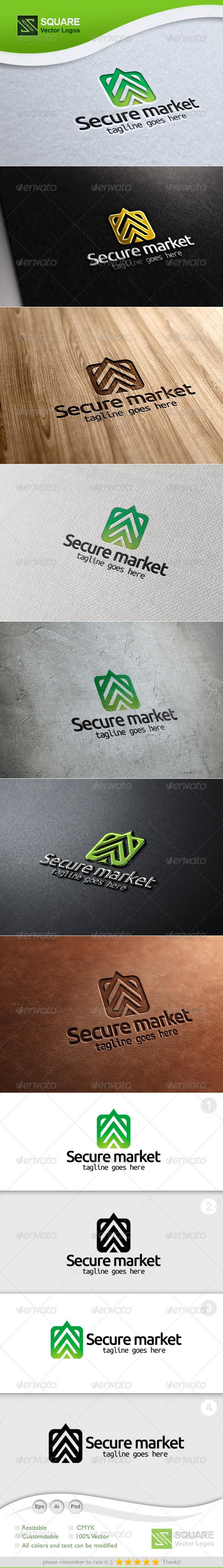 Secure, Market Vector Logo Template - Symbols Logo Templates