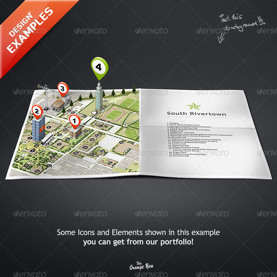 Paper Maps – The stage for your 3D Maps and Icons by ...