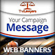 Advocacy Advertising Campaign Web Banners - GraphicRiver Item for Sale