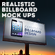 Realistic Billboard Mock-Ups - GraphicRiver Item for Sale