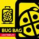 Bug Bag Travel Logo Template - GraphicRiver Item for Sale