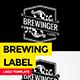 Vintage Brewing Label - GraphicRiver Item for Sale