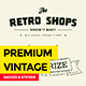 Premium Vintage Badges - GraphicRiver Item for Sale