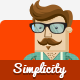 Simplicity - Creative Flat Retina Theme - ThemeForest Item for Sale
