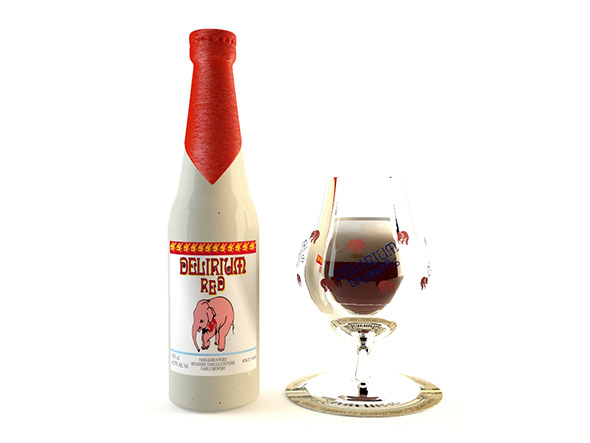 Delirium Tremens Red  - 3DOcean Item for Sale
