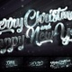 Merry Christmas And Happy New Year 2020 Silver Loop Backgrounds 5in1 - VideoHive Item for Sale
