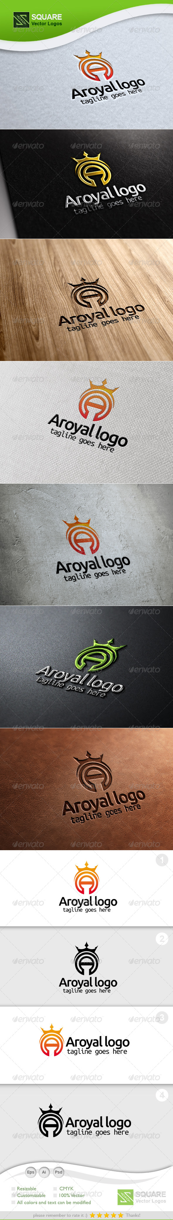 A, Crown Vector Logo Template - Letters Logo Templates