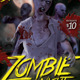 Zombie Night Flyer Vol 2  - GraphicRiver Item for Sale