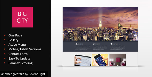 Big City Design - Personal Muse Templates