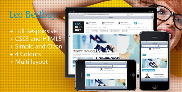 Leo Best Buy Prestashop Theme