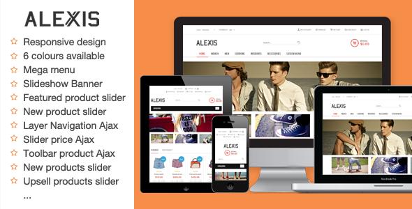 Alexis – Fashion Responsive Magento Theme
