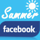 Facebook Cover - Summer Polaroid - GraphicRiver Item for Sale