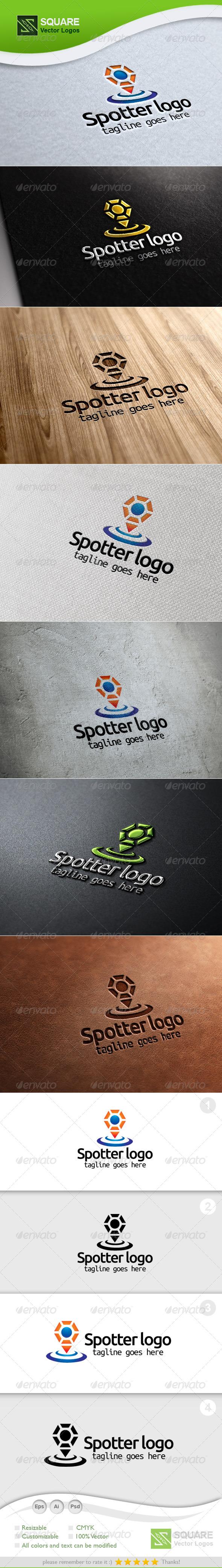 People, Locator Vector Logo Template - Symbols Logo Templates