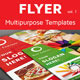 Multipurpose Flyer Templates - Vol. 1 - GraphicRiver Item for Sale