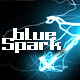 blue~sparK - VideoHive Item for Sale