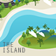 The Island Vector Set - GraphicRiver Item for Sale