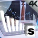 Futuristic Business Screen  - VideoHive Item for Sale