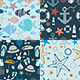 Sea Patterns - GraphicRiver Item for Sale
