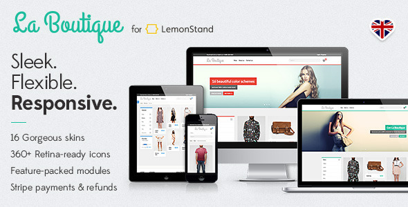 La Boutique Pro • Responsive LemonStand Theme - Miscellaneous eCommerce