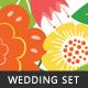 Vintage Wedding Set - GraphicRiver Item for Sale