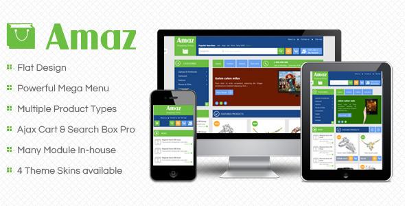 SM Amaz – Premium Responsive Magento Theme