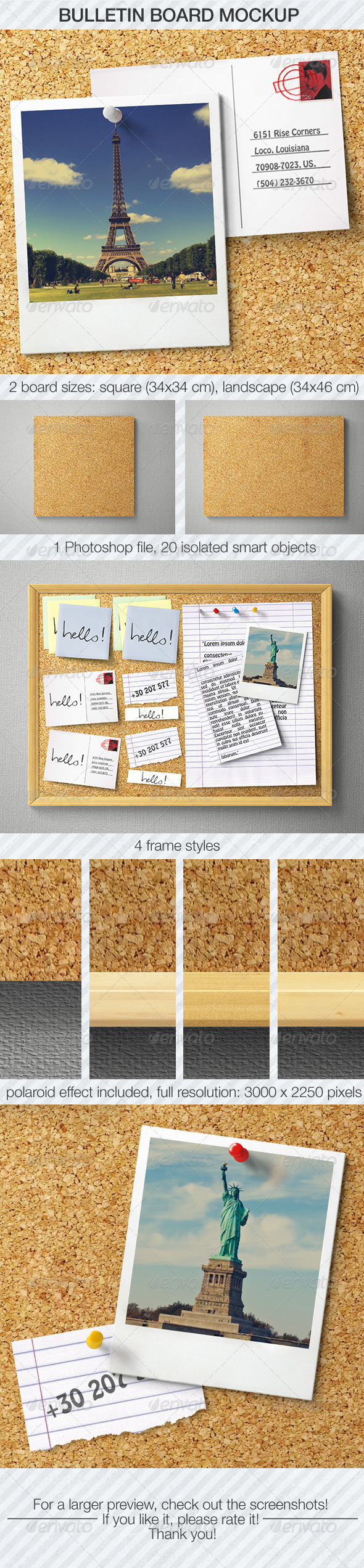 bulletin board mockup product mockups