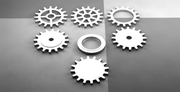 Cogwheel - 3DOcean Item for Sale