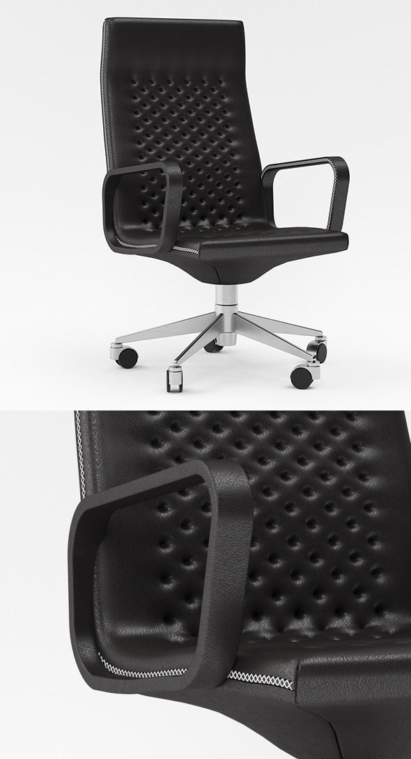 Chair of Desede RH305 3D model - 3DOcean Item for Sale