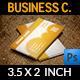 Orange Cloud Business Card - GraphicRiver Item for Sale