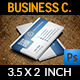 Corporate Business Card Vol.20 - GraphicRiver Item for Sale