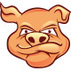 Pig Mascot Character - GraphicRiver Item for Sale
