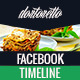 Dortoretto Facebook Timeline  - GraphicRiver Item for Sale