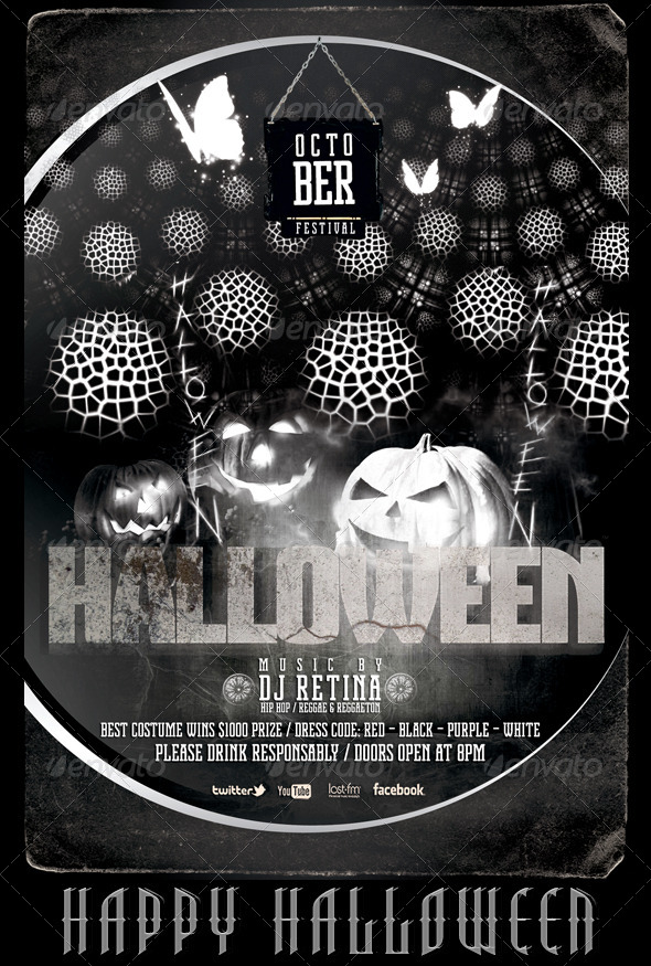 Halloween Bash Flyer/Poster Template