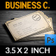 Retro / Vintage Business Card - GraphicRiver Item for Sale