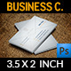 Envelope Business Card - GraphicRiver Item for Sale