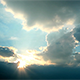 Sun Behind Clouds  - VideoHive Item for Sale