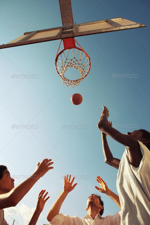 Basketball - Stock Photo - Images