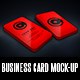 Vertical Business Card Mock-Up + Gift Card Mock-Up - GraphicRiver Item for Sale